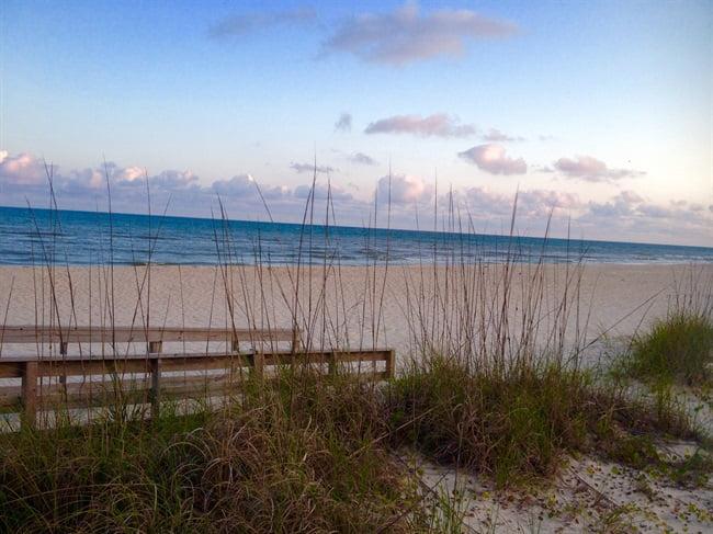 beach on st george island florida
