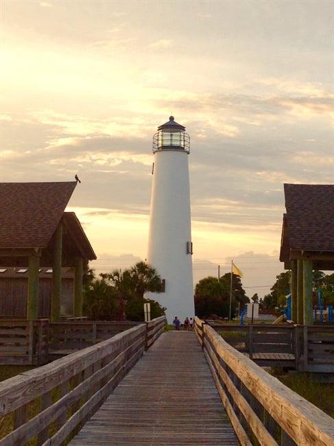 cape st george lighthouse on st george island fl